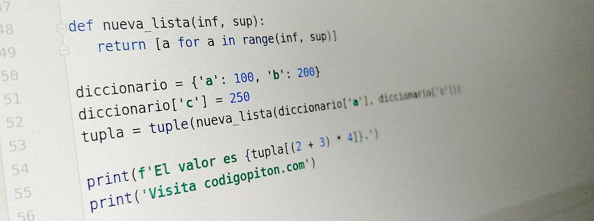 Paréntesis, corchetes y llaves en Python